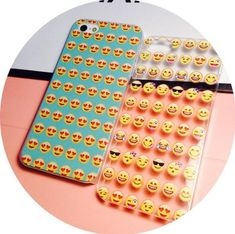 !! So Cute !! Emoji icon Phone 5 5s 6 6 plus Phone Cover happy funny blue transparent