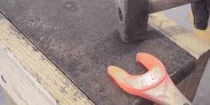 Watch a Wrench Get Beaten Into a Homemade Tomahawk