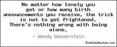 The Brilliant Wendy Wasserstein...