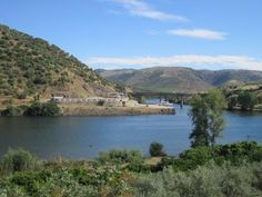 boat dock on the Spain side of the Douro River