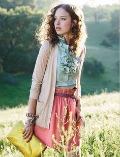 I love vintage clothes