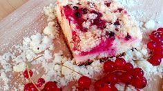 Hrníčkový rybízový koláč podle babičky
