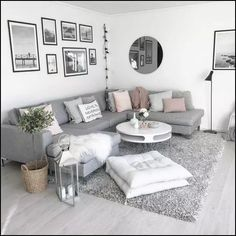 When youre selecting your furniture for your cozy living room ideas, size and plushness count. Soft fabrics and lots of comfortable seating providing a warming and relaxing feel. living room seating 46 Cozy Living Room Ideas and Designs for 2019