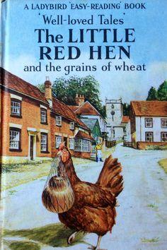 "Ladybird Book "" The Little Red Hen "" Old Children's Books, Vintage Children's Books, My Books, Retro Vintage, Childhood Memories 90s, 1970s Childhood, Childhood Toys, Easy Reading Books, Children Reading"