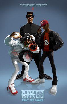 Hip Hop icons on Behance
