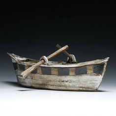 Mary Fischer Boat Sculpture - clay https://www.crimsonlaurelgallery.com/shop/mary-fischer-en-2-3-4-5-6-7-8-9-10-11.html