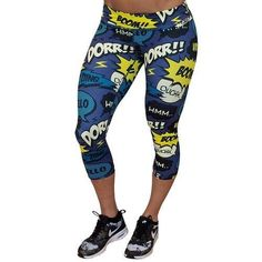 Comic Book Leggings