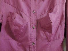 Anglomania Vivienne Westwood Pocket Blouse Top 42 4 Shirt Fuchsia Cotton | eBay