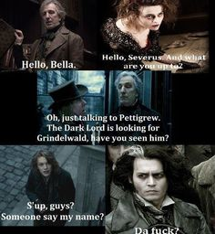 Harry Potter + Sweeney Todd = epic win.