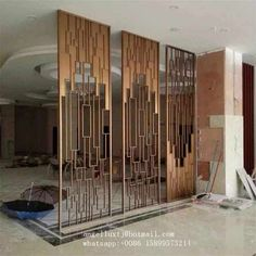 21 Room Divider Ideas To Help You Define Your Space Screen Design, Door Design, Divider Design, Divider Ideas, Living Room Partition Design, Room Partition Designs, Metal Room Divider, Room Divider Screen, Room Screen