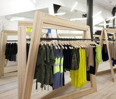 Cut25 Boutique by Studio Dror, New York store design #design #inspiration #store   Check out SI Retail's Garment Racks https://www.sishop.com.au/garment-racks-accessories-c-79/garment-racks-c-79_169