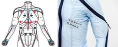 Electrode suit for nerve disorders. #wearable technology