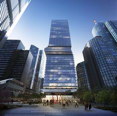 Imagem 1 de 25 da galeria de BIG projeta arranha-céu para Frankfurt. Fotografia de BIG