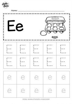 √ 20 Abc Worksheets Free Letter E . 29 Abc Worksheets Free Letter E. Letter E Activities, Letter Worksheets For Preschool, Alphabet Tracing Worksheets, Preschool Writing, Tracing Letters, Preschool Letters, Alphabet Worksheets, Kindergarten Worksheets, Preschool Printables