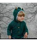 Disfraz de cocodrilo de algodón orgánico. #carnavaletico #carnavalorganico