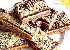 Orechovo-čokoládové tyčinky (fotorecept)