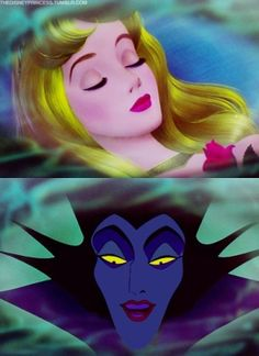 i watched this movie yesterday and Maleficent still scares the crap out of me !