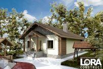 proiect casa Locuinta Parter Lora 15