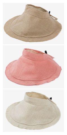 Wide Brim Empty Top Hat Casual Female Visor