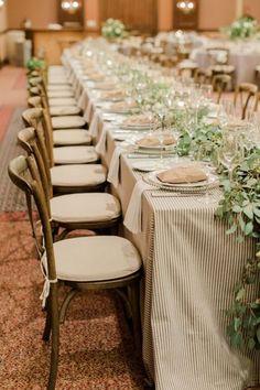 Manteles increíbles para el banquete de tu boda: ¡Sorprende a todos! Image: 7