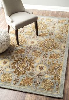 Dynasty CY19 Grey Rug | Traditional Rugs