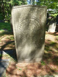 Nutfield Genealogy: Tombstone Tuesday ~ David and Rebecca Armstrong of Windham, New Hampshire #genealogy