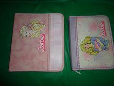 2 Vintage Barbie Theme zip binders 9x8 & 6.5 x 8.5 find me at www.dandeepop.com