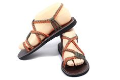 Size 10 Summer shoes Playful sandal-all by Nittynicesandal