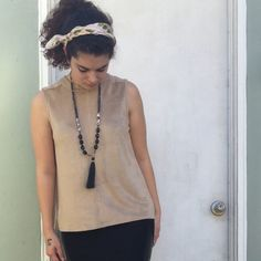 Selling this Comfy Faux Suede Tank in my Poshmark closet! My username is: maelen_n. #shopmycloset #poshmark #fashion #shopping #style #forsale #Paper Crane #Tops