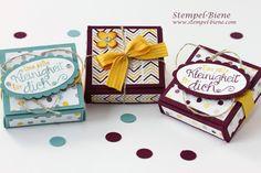 Stampin' Up Schokoladenverpackung, Stampin Up Für Leib und Seele, Stampin up Brombeermousse, Stampin Up neuer Jahreskatalog, Team Stampinclu...