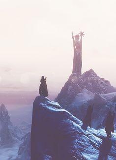 #skyrim Skyrim, Nerdy Wallpaper, Elder Scrolls Games, Fantasy Inspiration, Cheshire Cat, Dragon Age, Fantasy World, Monument Valley, Video Games