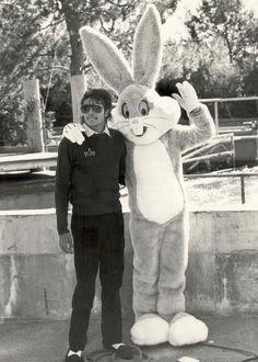 Michael Jackson and Bugs Bunny