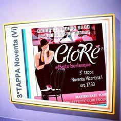 3°Tappa Noventa Vicentina con Sonia Olivieri Istruttrice Clorè Effetto Burlesque