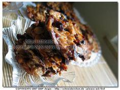 Florentine Cookies - Florentiner
