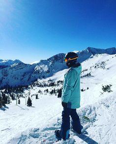 思考人生大道理 🤔🏂💩 #snowboarding #snowbird #mountaincollective16 #沉思 #大道理