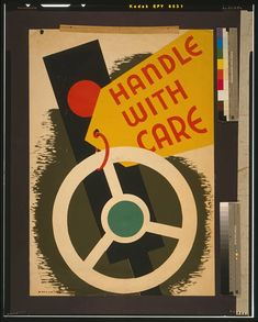 Handle with care - Missouri WPA Art Project - 1943