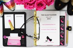Paper & Glam - The Glam Planner 2016