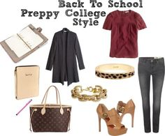 Back to School Preppy College Style