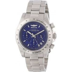 Men's Wrist Watches - Invicta Mens 9329 Speedway Collection Chronograph S Watch *** Check this awesome product by going to the link at the image. Cool Watches, Rolex Watches, Watches For Men, Wrist Watches, Patek Philippe, Devon, Cartier, Online Watch Shopping, Watches Online