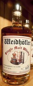 Weidhöfler Single Malt Whisky