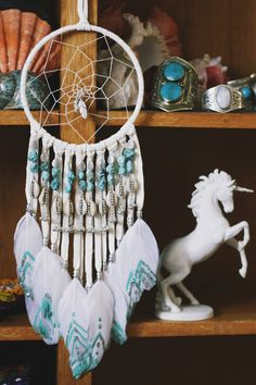 The Once Upon a Time Dream Catcher. By: Wild & Free Jewelry Crafts To Make, Arts And Crafts, Diy Crafts, Dream Catcher Mobile, Dream Catchers, Los Dreamcatchers, Medicine Wheel, Beautiful Dream, Native Art