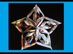 Christmas Crafts- Paper Snowflakes - Christmas Star Tree Topper (Easy Paper Decoration) The Diy 3d Christmas Star, Diy Christmas Tree Topper, Diy Christmas Snowflakes, 3d Paper Snowflakes, Diy Tree Topper, Star Tree Topper, Christmas Origami, Paper Stars, Noel Christmas