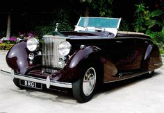 1937 All-weather Cabriolet by Gurney Nutting (chassis GRO48) for the Maharajah of Darbhanga