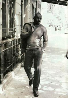 Idris Elba... he's just sexy