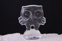 Vintage Kosta Boda Art Glass Owl Figurine by afterglowretro, £18.00