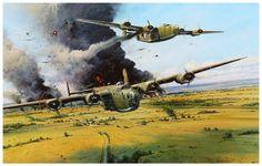 Ploesti- The Vital Mission, by Robert Taylor (B-24 Liberator)