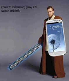 This is the best description for every Samsung and iPhone user out there [ AutonomousAvionics.com ] #funny #meme #technology