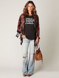 This is TOTALLY me!  It's either Dresses or jeans and a tshirt!  Have I mentioned how much I LOVE Free People?