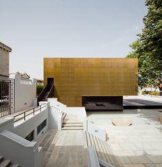 pitágoras arquitetos / plataforma das artes e criatividade, guimarães