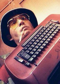 wild man, Johnny Depp as Hunter S. Thompson in Fear and Loathing in Las Vegas
